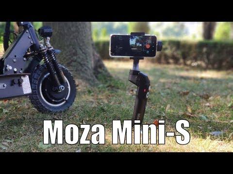 Moza Mini-S Foldable Gimbal - Full Review