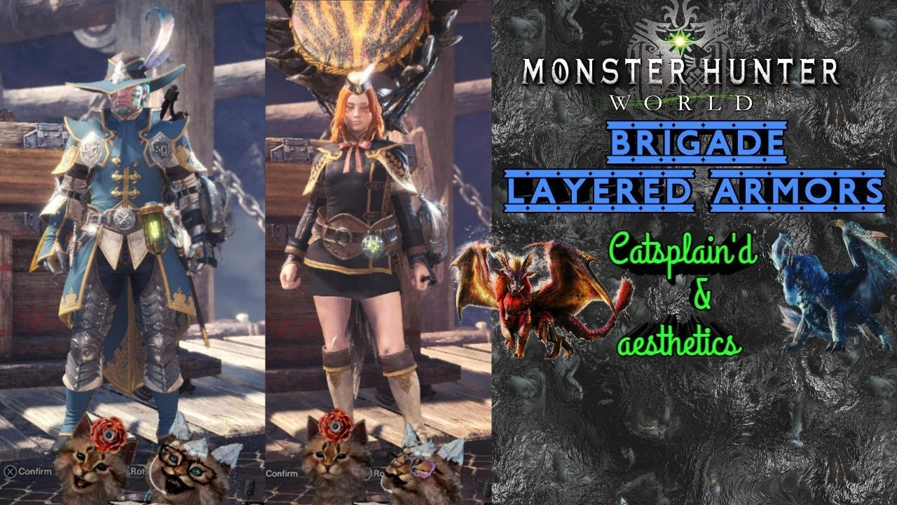 Mhw New Layered Brigade Armor Youtube