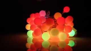 Светодиодная гирлянда Ball, 7,5 м, 60 светодиодов, RGB(Светодиодная гирлянда LED Ball IP20 представляет собой нить из 60 светодиодов, объединенных общим проводом. Рассе..., 2014-12-08T21:31:50.000Z)