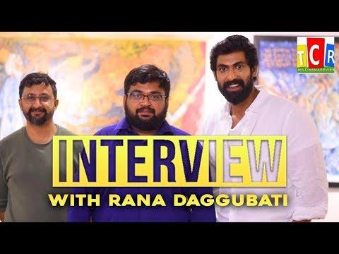 """ Tamil or Telugu , Madness of making a movie same "" Rana Daggubati opens up!"