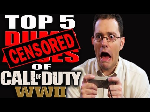 THE TOP 5 DUMB ASSES OF CALL OF DUTY WW2! 😂 COD WW2 TOP 5 COUNTDOWN! BETTER THAN A COD TOP 10!