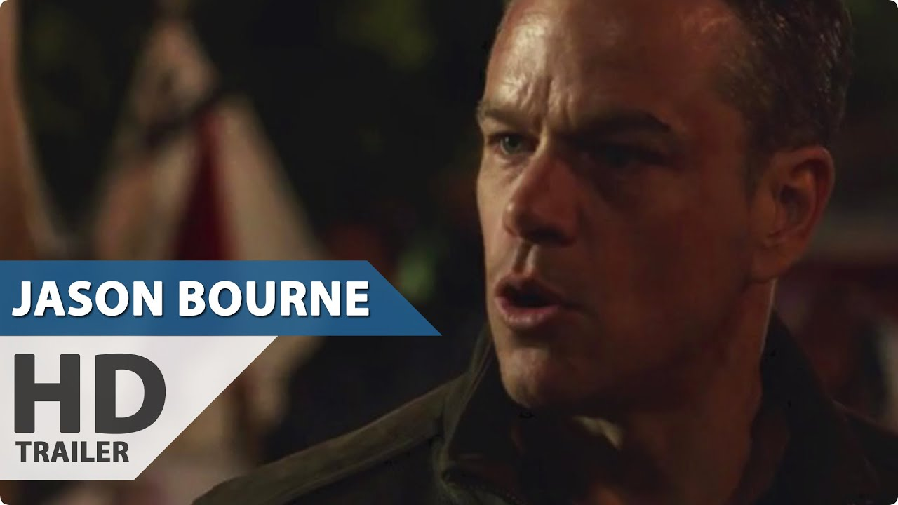 Trailer Jason Bourne