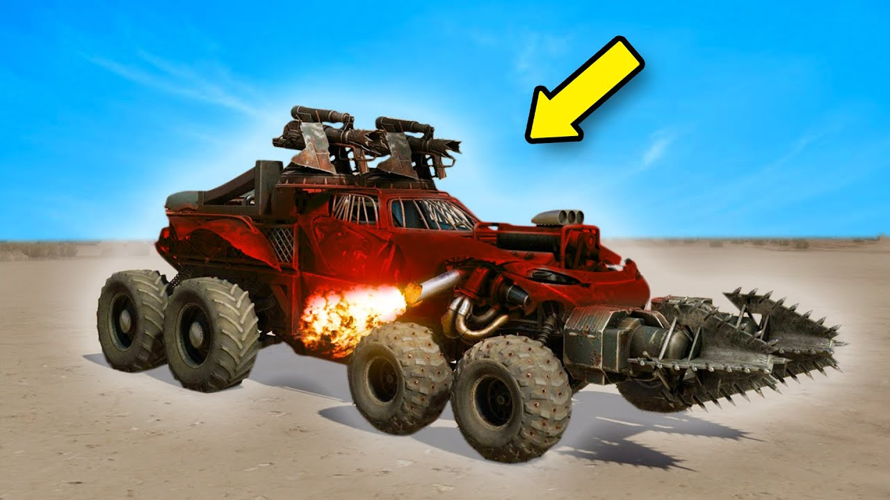 This Game Lets You BUILD YOUR OWN CARS And BATTLE THEM! | Crossout