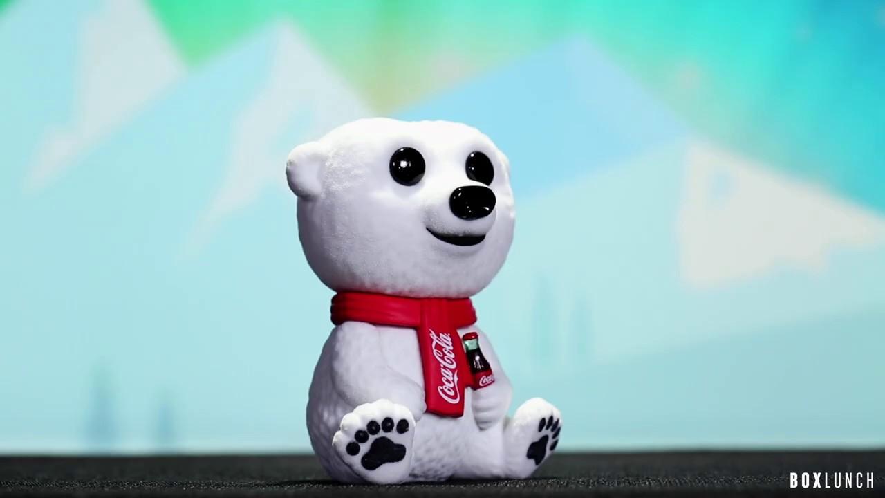 Funko Eisbär Brandneu in Box Pop Ad Symbole Coca-Cola