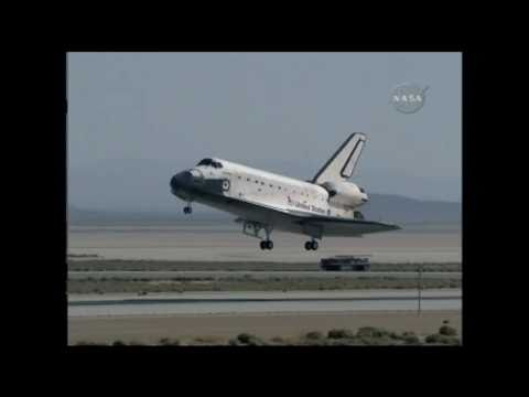 STS-125 Space Shuttle Landing