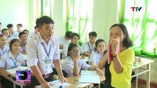 (TTV) Trường THPT Nông Cống 3 tăng cường tuyên truyền Luật Giao thông  cho học sinh vùng nông thôn