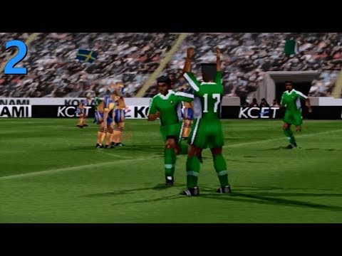 CAN NIGERIA WIN THE WORLD CUP? - Part 2 - ISS Pro Evolution 2 (PS1) - International Cup