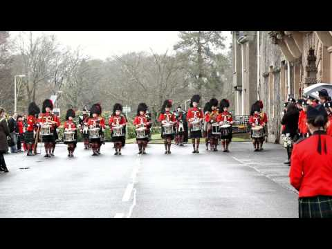 The Pipes and Drums of Queen Victoria School - Dunblane