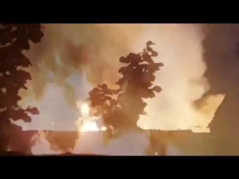 Incendio en Santa Marta de Tormes