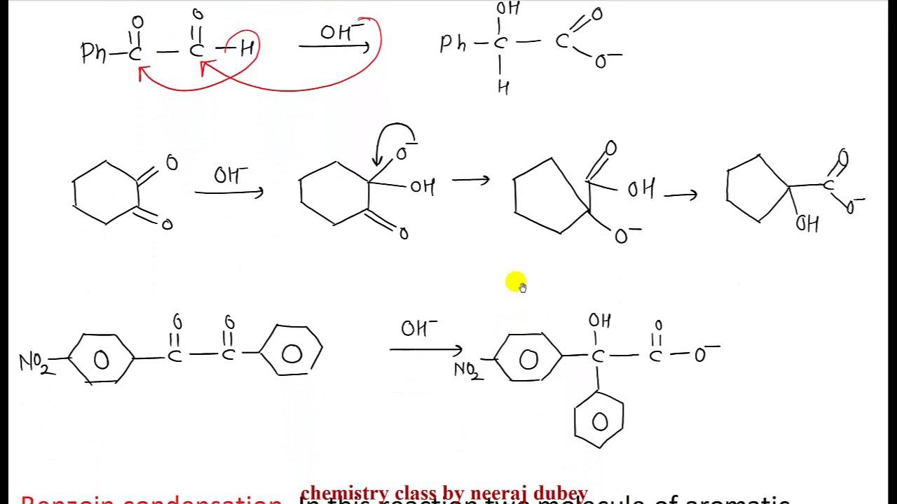 benzil to benzilic acid