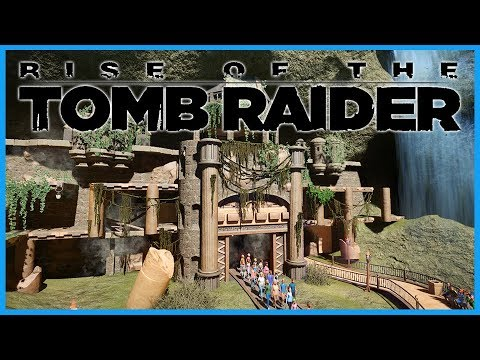 Rise of the Tomb Raider: The Ride! Coaster Spotlight 401 | Contest Entry #PlanetCoaster