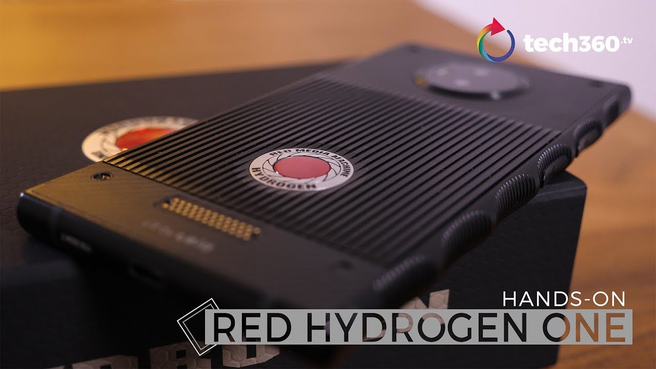 Red Hydrogen One: A 3D phone in the making