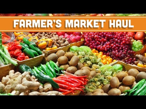 Farmer's Market Tips & $20 Haul! Come With Me! Mind Over Munch