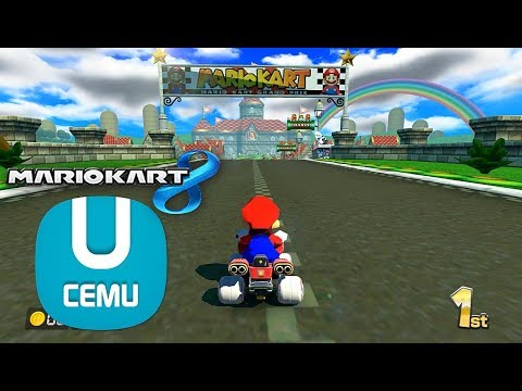 cemu mario kart 8 ft wii mario circuit wii u mk8 mods 60fps wip youtube. Black Bedroom Furniture Sets. Home Design Ideas