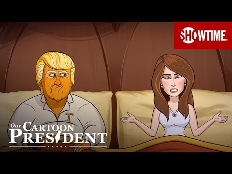 'Melania's Emotive Eyes' Ep. 6 Official Clip | Our Cartoon President | SHOWTIME