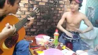 LK gõ bo và guitar - trung bo
