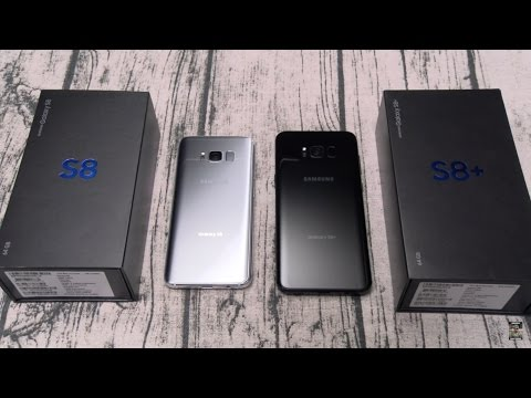 Samsung Galaxy S8 And S8 Plus - Unboxing And First Impressions