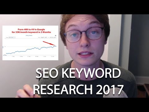 Finding the BEST keywords for SEO in 2017 (HIGH VOLUME/LOW COMPETITION)