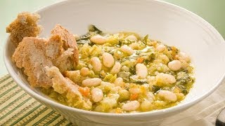 Tuscan Bread & Bean Soup
