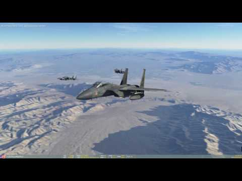 DCS 2.0 Nevada F-15C Red Flag Mission 3: OPLAN 1402B BEGINS
