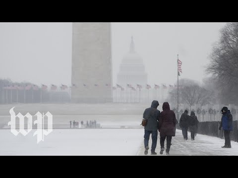 Download Youtube: Snow is headed to the D.C. region on Tuesday evening