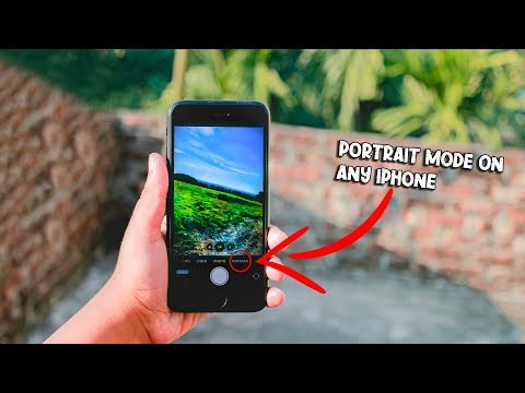 ✌️How To Get Portrait Mode On Any IPhone Without Jailbreak