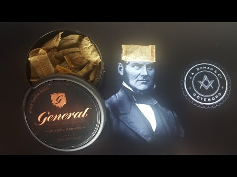 Snus review #44: General Classic Portion