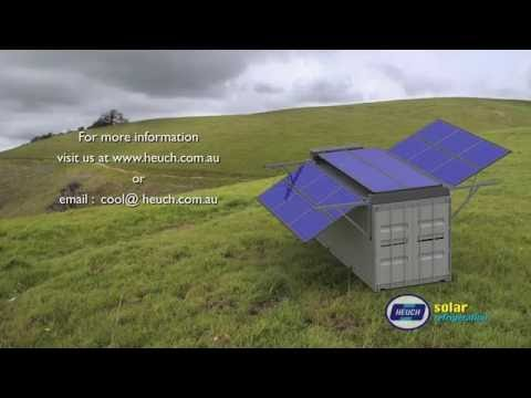 Heuch Solar Powered Refrigerated Container