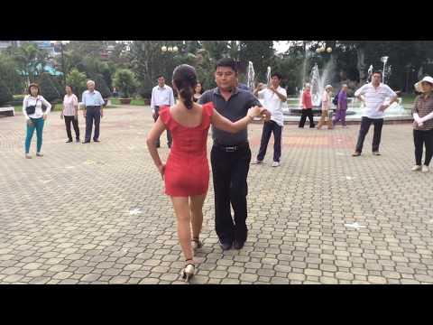 Chachacha nâng cao bài 2 - Khiêu vũ Trọng Hối