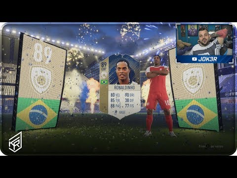 RONALDINHO ICON IN A PACK ! ASSURDO !!! PACK OPENING FIFA 18