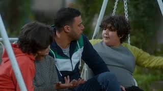 لما صاحبك التخين يطلب منك تمرجحه 😲 ... كوميديا محمد إمام مع الأطفال 😂#لمعى_القط