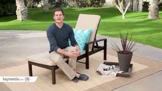 Coral Coast South Isle All-weather Wicker Dark Brown Chaise Lounge - Set Of 2 - Product Review Video