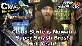 Cloud Strife is Now in Super Smash Bros! Hell Yeah!