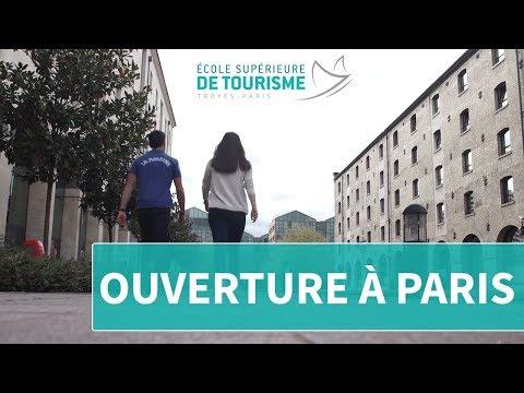 Ouverture de l'École Supérieure de Tourisme à Paris !