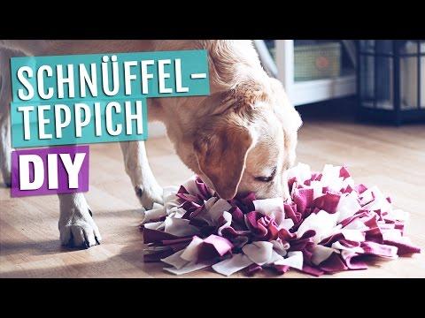 Anleitung Schnüffelteppich für Hunde | Hundespielzeug selber machen / basteln | DIY HUND