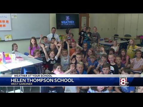 Weather At Your School: Helen Thompson School