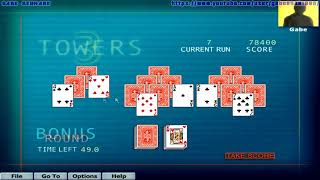 Hoyle Puzzle Games 2003 - 3 Towers (Complete Gameplay)