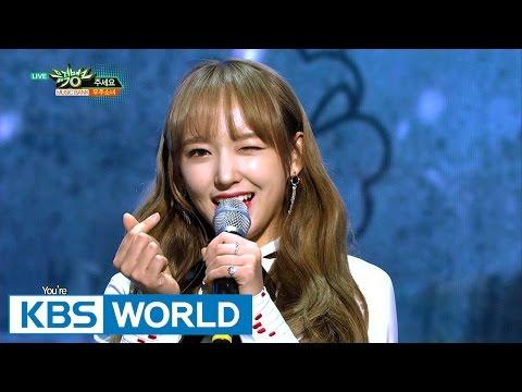 WJSN - Say Yes / I Wish | 우주소녀 - 주세요 / 너에게 닿기를 [Music Bank COMEBACK / 2017.01.06]