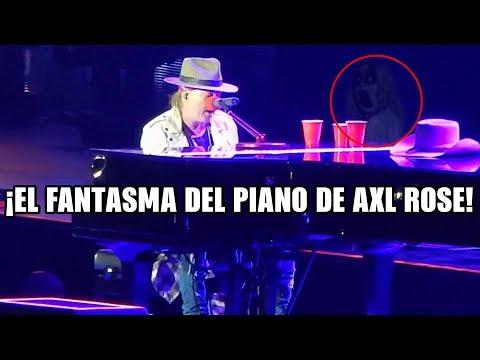 Un Fantasma Toca El Piano De Axl Rose Guns N' Roses | EXPLICACION