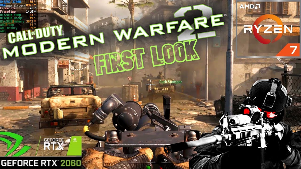 Call of Duty® Modern Warfare® 2 Campaign Remastered: ASUS TUF RTX 2060 RYZEN 7 (FIRST LOOK)