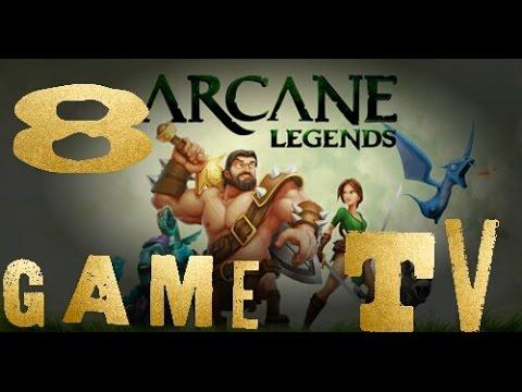 Arcane Legends #8 Поезные фишки игры