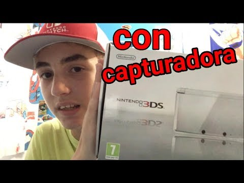NINTENDO 3DS CON CAPTURADORA