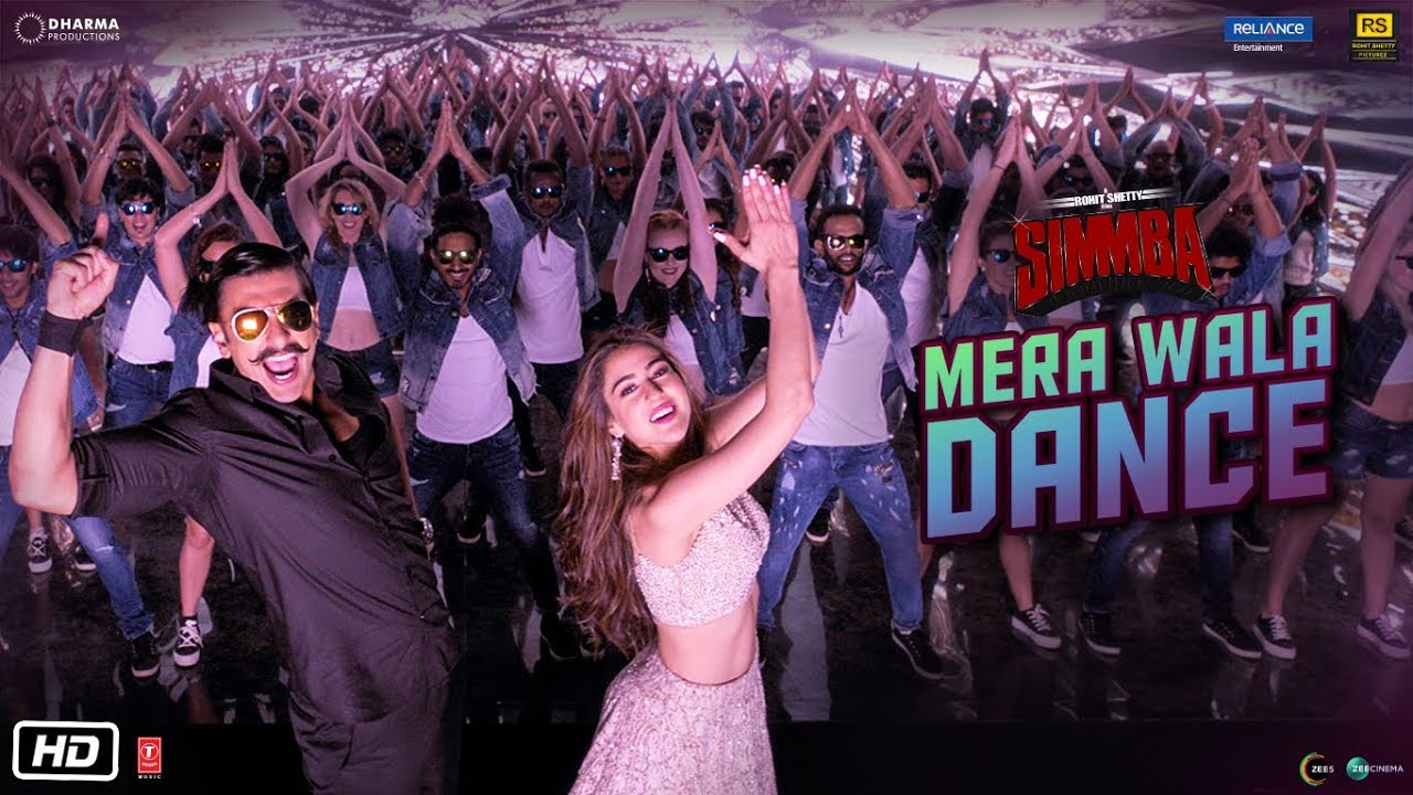 Download SIMMBA: Mera Wala Dance | Ranveer Singh, Sara Ali Khan | Neha Kakkar, Nakash A, Lijo G - DJ Chetas