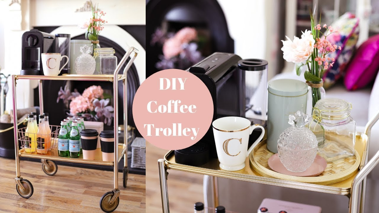 [VIDEO] - DIY Coffee Cart, Thrift Flip Trolley 4