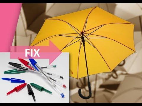 Как устроен зонт автомат схема