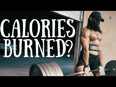 Lifting Weights Burns How Many Calories?