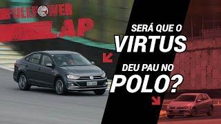 Sedan dá pau em hatch? VW Virtus mais rápido que o Polo? É agora que você descobre!