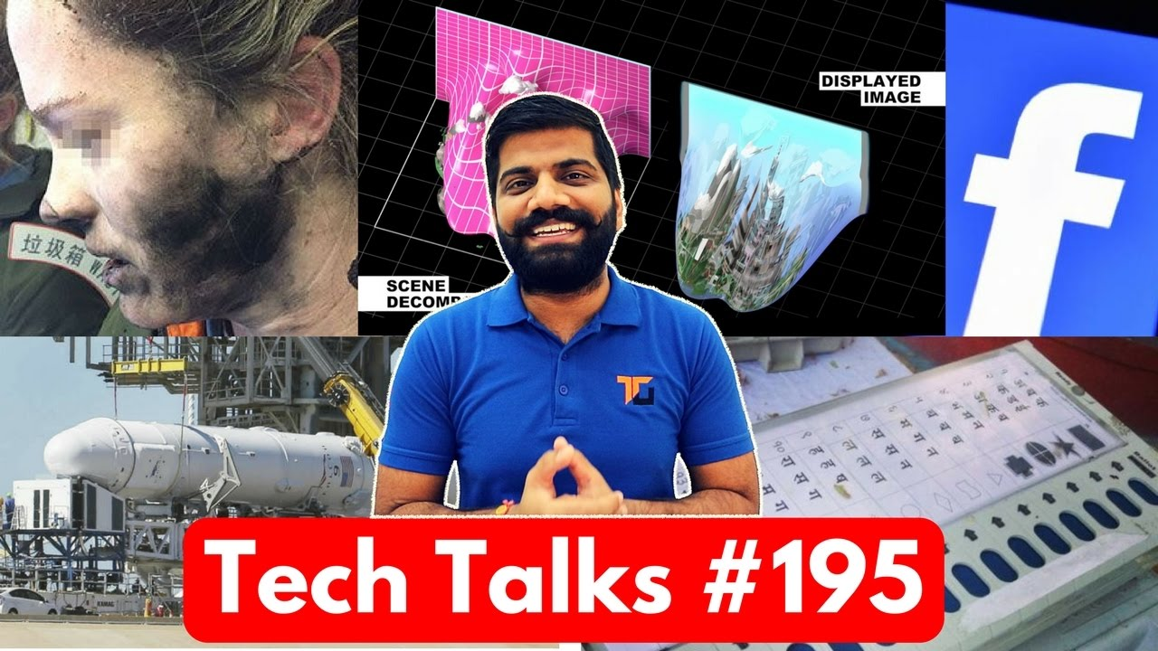 Tech Talks #195 - Jio Slow Growth, SpaceX Dragon, Smart T-shirt, EVM Hacking, Smart VR