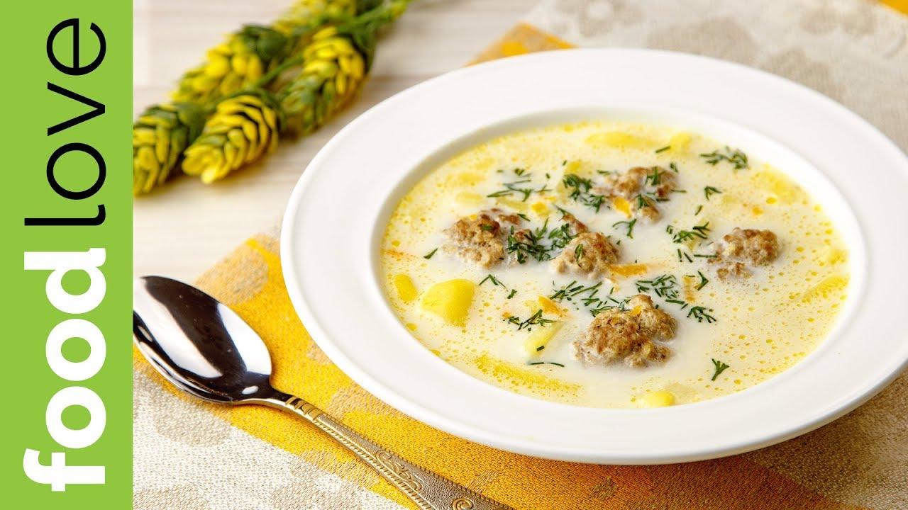 ДОБАВКИ ПРОСЯТ ДАЖЕ ДЕТИ! Вкуснейший сырный суп с фрикадельками | Вкусный обед | FoodLove