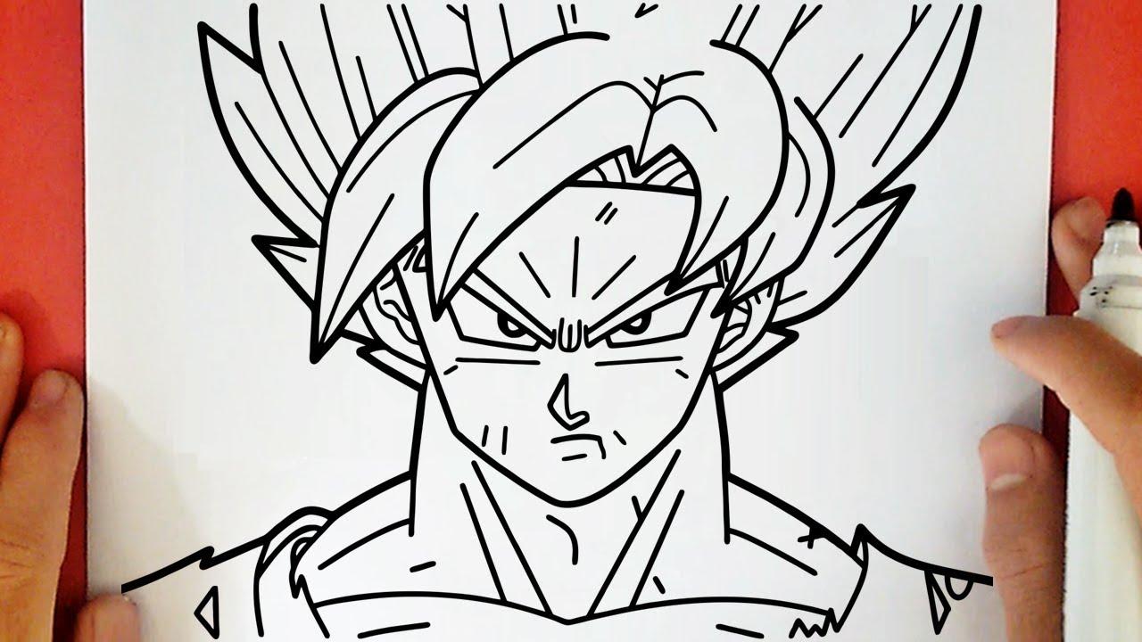 Comment Dessiner Goku Ssj Blue Youtube